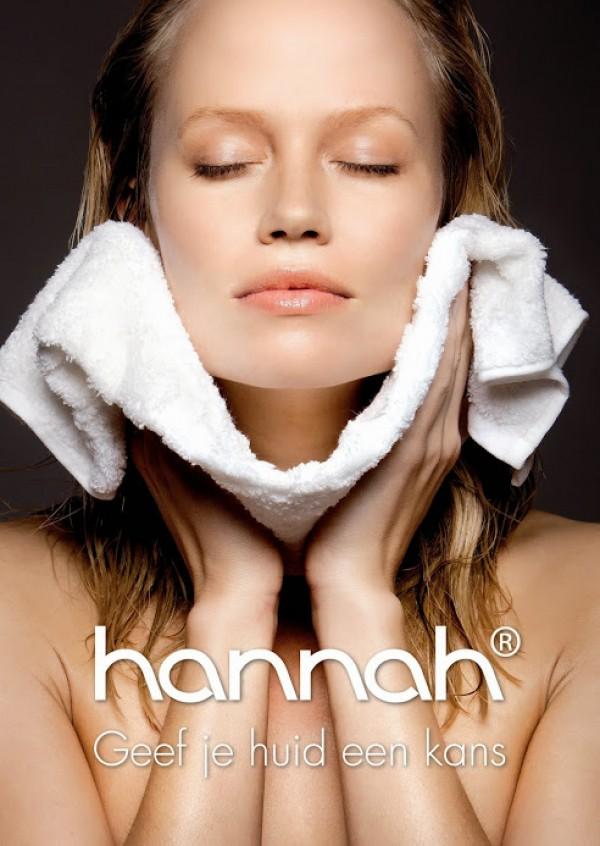 Huidverbeterende gelaatsverzorging van Hannah